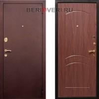 Металлическая дверь REX 1A Орех