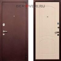 Металлическая дверь REX 1A Беленый дуб