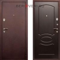 Металлическая дверь  REX 2 Венге
