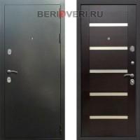 Металлическая дверь REX 5A Серебро Венге