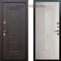 Металлическая дверь REX 9 Беленый дуб