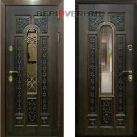 Металлическая дверь REX 8 с ковкой