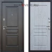 Металлическая дверь АСД Гермес NEW Сосна белая