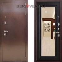 Металлическая дверь Снедо Царское зеркало Венге
