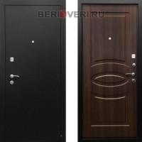 Металлическая дверь Ратибор 3К Классик Орех бренди